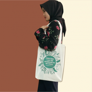 King Paper Bag Tote Bag